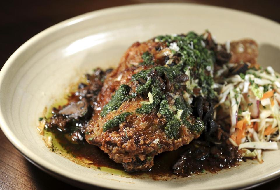 Somerville Restaurant La Brasa Fits In While Standing Out The
