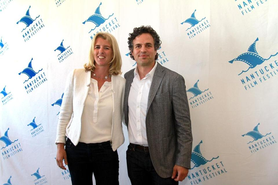 Rory Kennedy and Mark Ruffalo.
