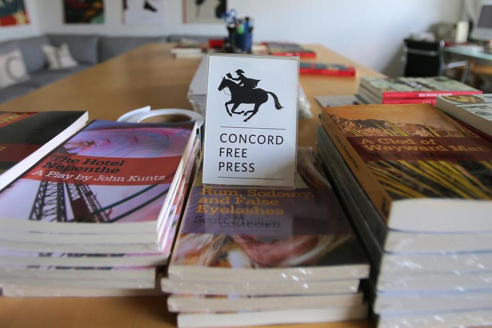 The Concord Free Press gives away books for free to readers who will donate to a charity or person in need.