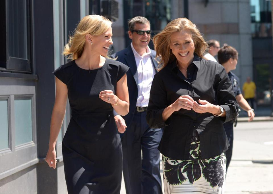 meredith vieira in town to hype her latest show the boston globe