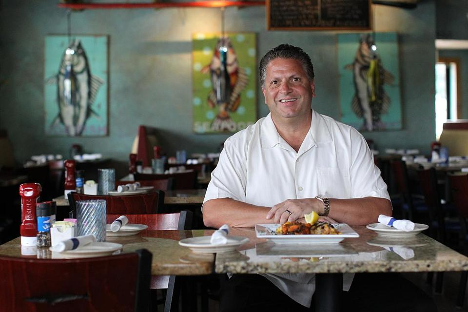 Jim Tz Owner Of Joe Fish Seafood In North Andover And Reading Believes