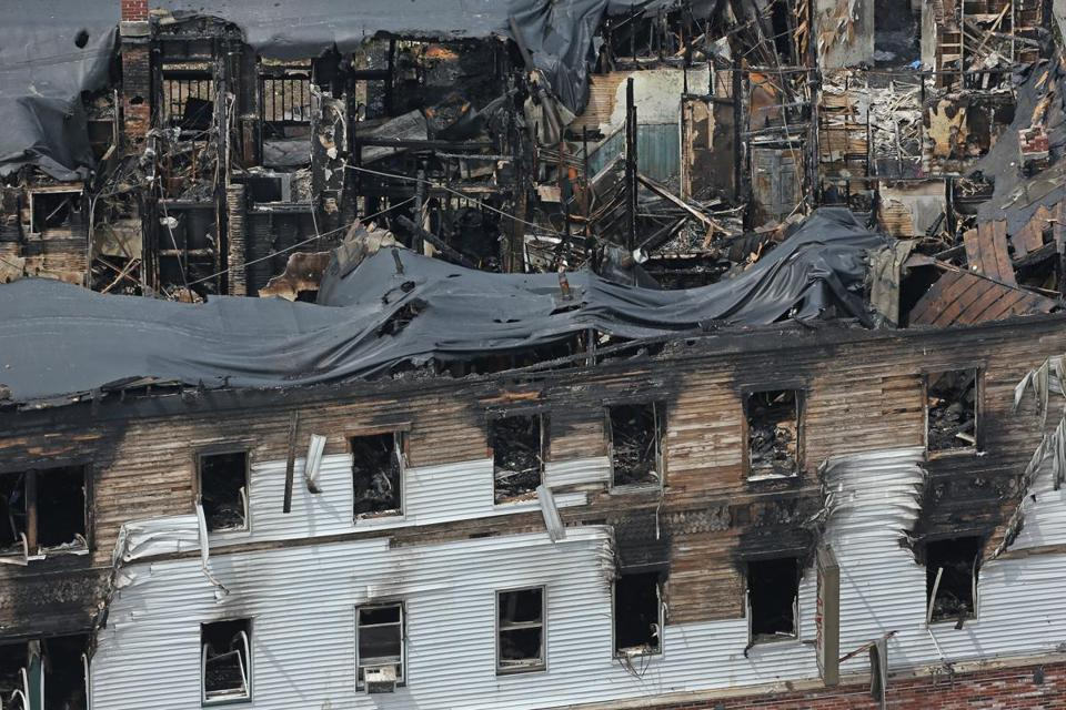 Seven people were killed in Thursday's fire at a Lowell apartment building.