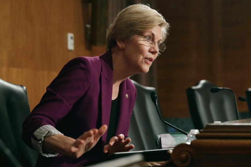 Senator Elizabeth Warren is backing a Senate bill that calls for a two-year moratorium on tax inversions.
