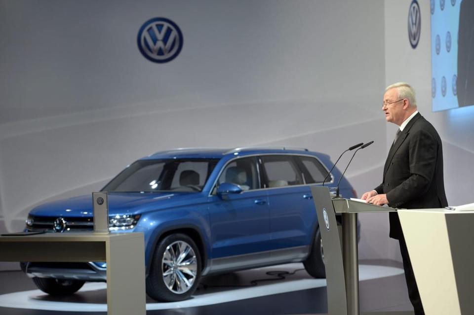 "Chief executive Martin Winterkorn said of the new SUV CrossBlue: ""This vehicle will be a true American car.''"