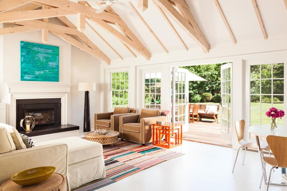 Owner And Interior Designer Jill Morelli Spruced Up The 1960s Addition At Back Of