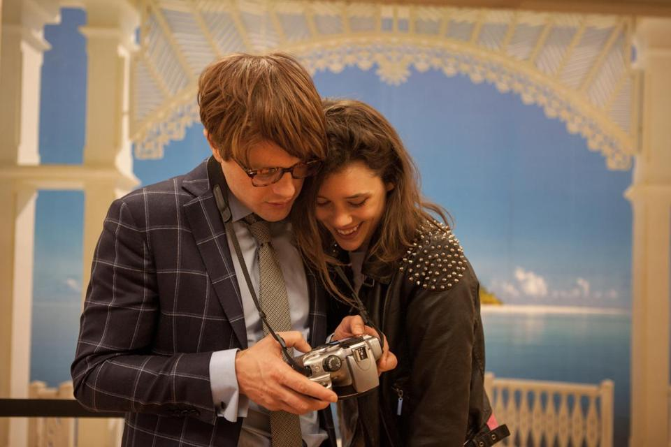 "Michael Pitt and Astrid Bergès-Frisbey in a scene from director Mike Cahill's ""I Origins."""