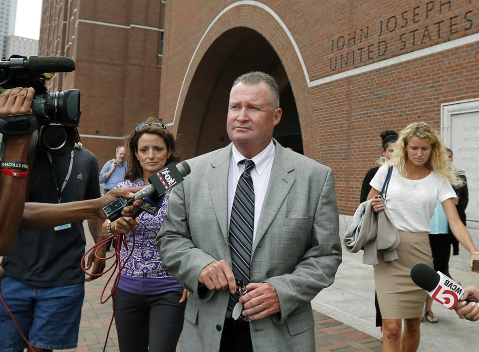 Former Massachusetts probation commissioner John O'Brien.