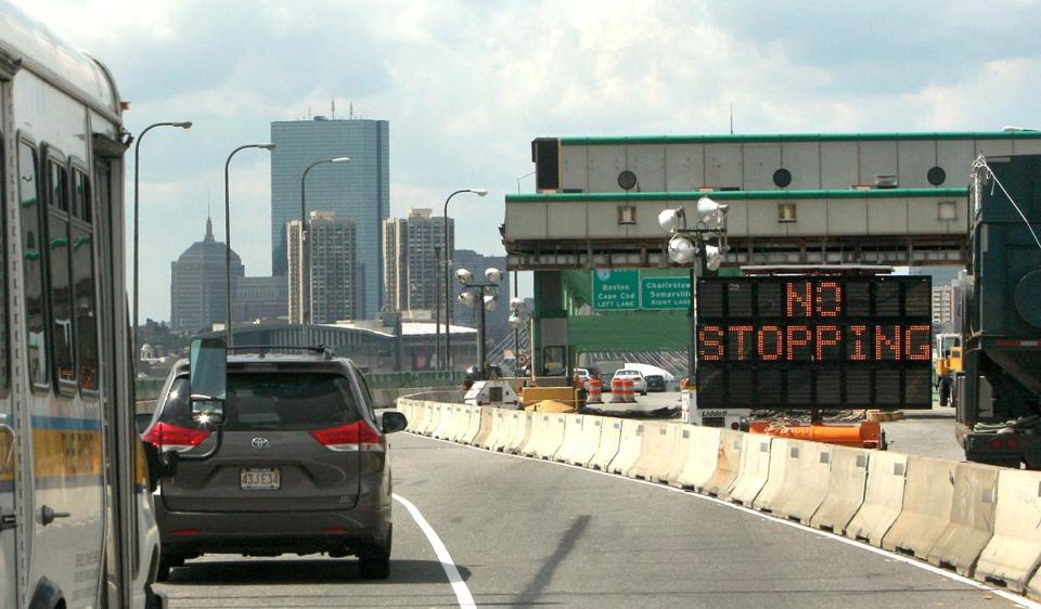 Car rental companies have devised various ways to deal with the new, all-electronic tolling on Tobin Bridge.