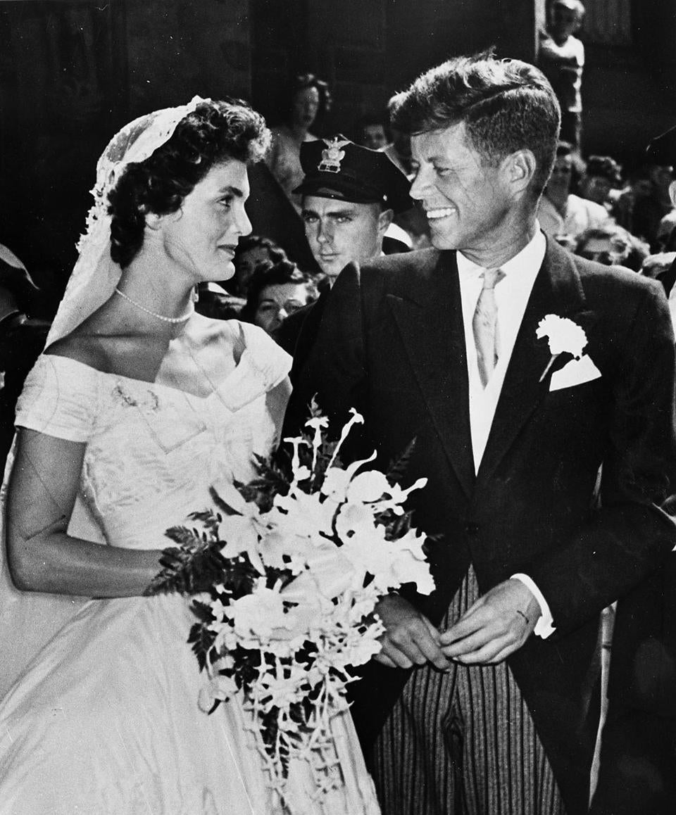 John F Kennedy & Jackie Wedding - 0113KennedyWeddings