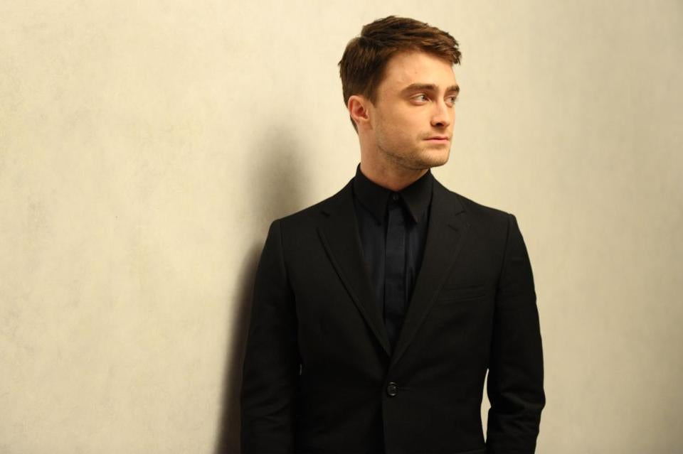 """I pick the kinds of films I would like to see if I were an audience member,"" says Daniel Radcliffe."
