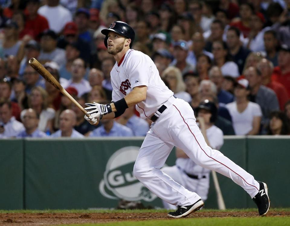 Stephen Drew was signed by the Red Sox as a free agent in May.