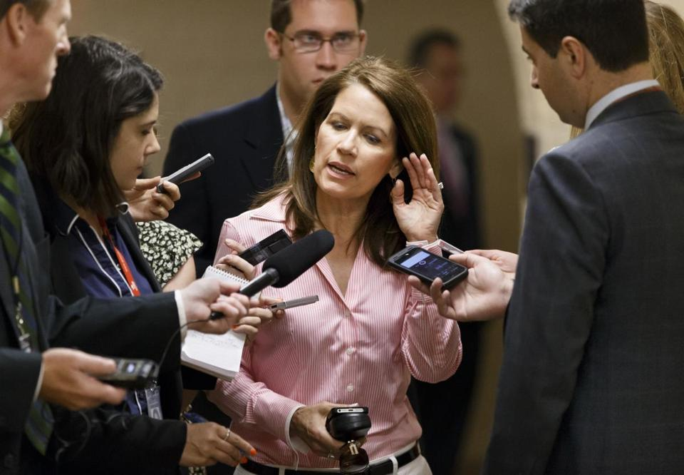 "The bill stops ""the invasion of illegal foreign nationals,"" Representative Michele Bachmann said."