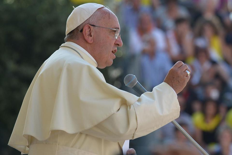 At the end of his weekly Angelus prayer on July 27, Pope Francis used plaintive language in describing his concern.