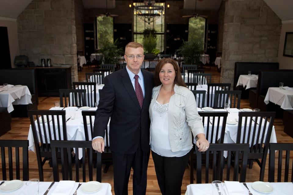 The Quarry co-owners Ron and Julie Leduc said they opened their Hingham restaurant to take the commute out of the Boston dining experience.