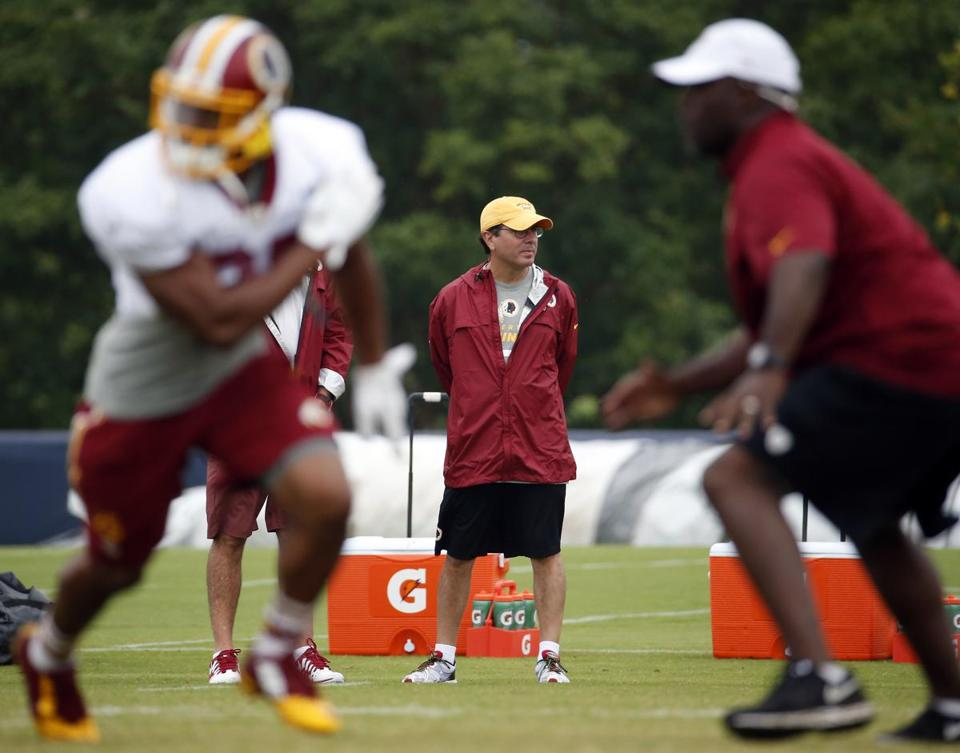 Redskins owner Daniel Snyder is at the center of a controversy over the team's name. Alex Brandon/Associated Press
