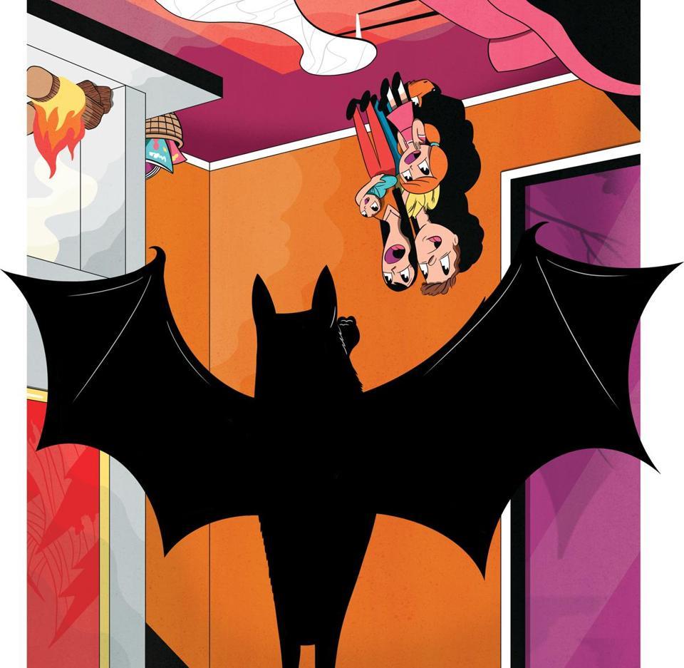 Our home was invaded by bats - The Boston Globe Beyond The Bat Door on tree door, mouse door, flower door, dog door, devil door, twin colonial light entry door, witch door, pigeon door, bell door, horse door, art door, gorilla door, easter chick door, house door,