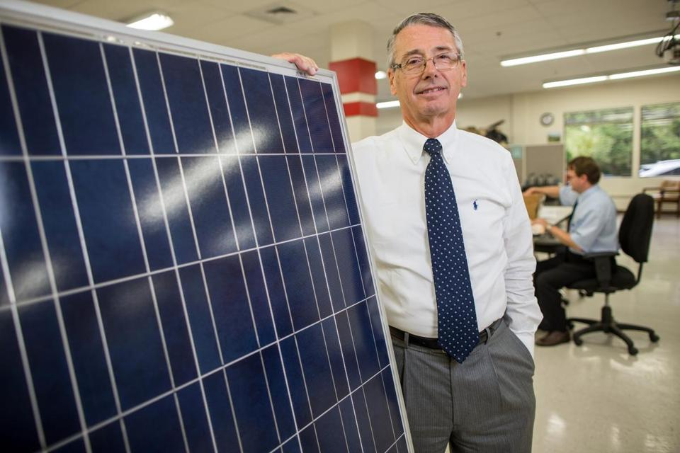"""International trade has really changed for us,"" says chief executive Rodger LaFavre of Spire Corp., a Bedford maker of equipment for the solar industry."