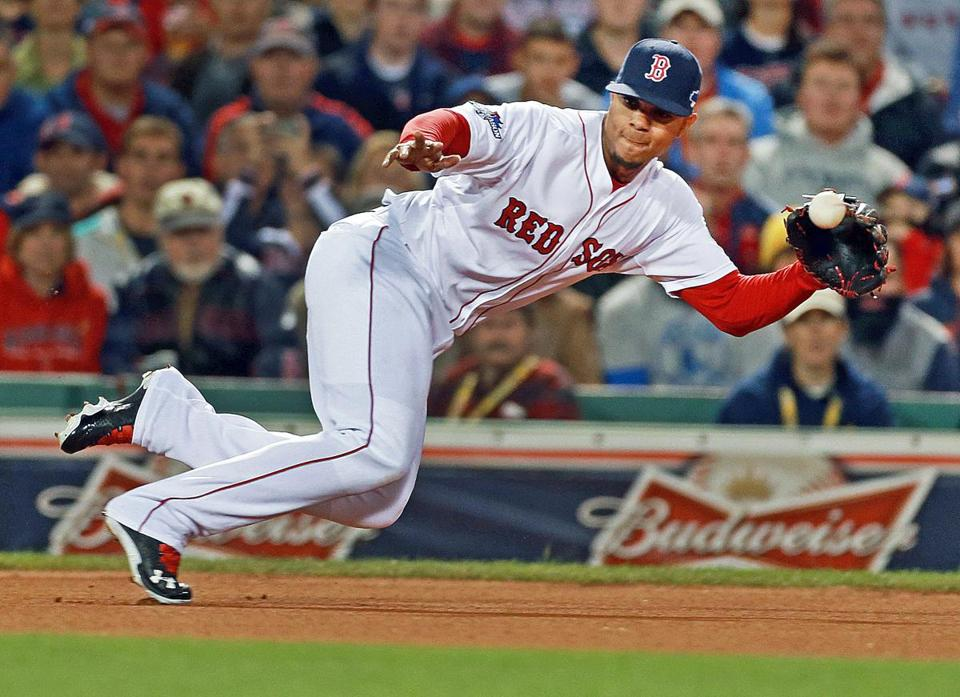 Xander Bogaerts believes he has improved his first-step and lateral  movement. a0f585069