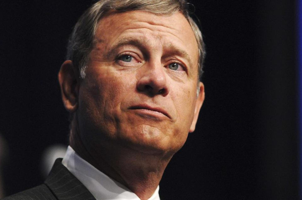 Supreme Court Chief Justice John Roberts spoke at the American Bar Association's annual meeting in Boston.