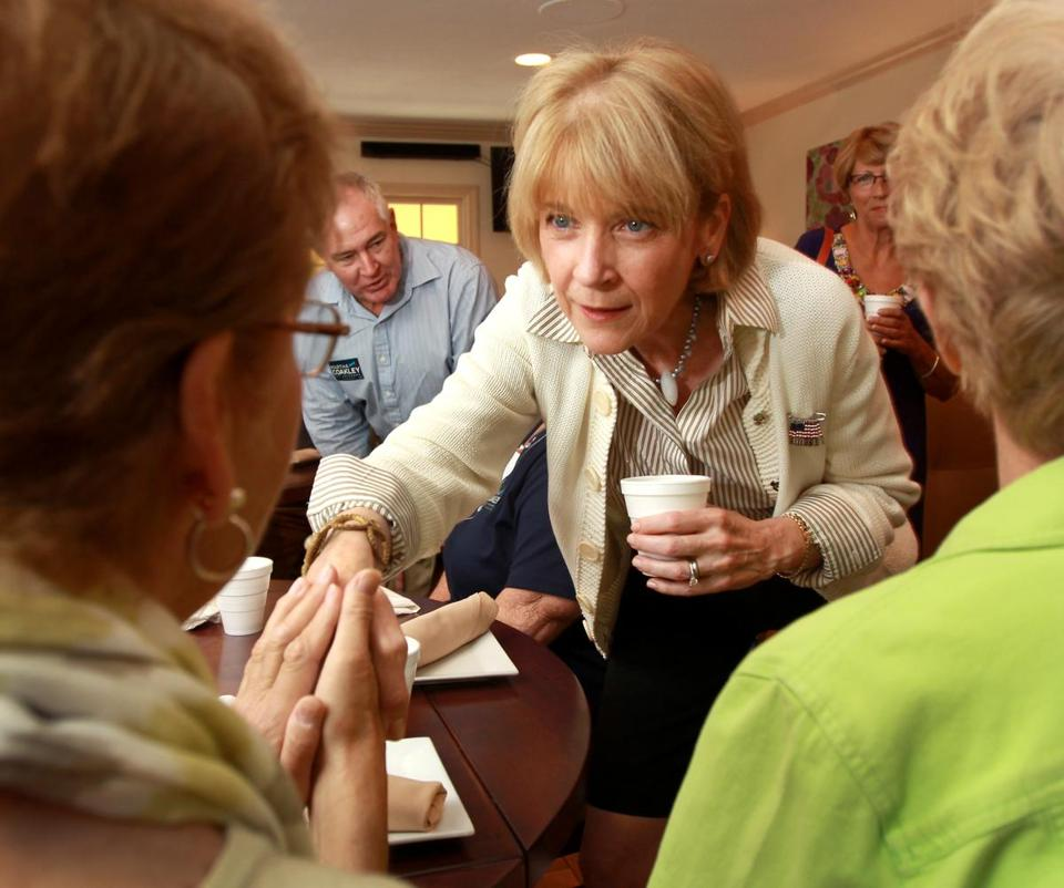 Martha Coakley is out to prove in this gubernatorial campaign that she is personable, empathetic, and qualified.