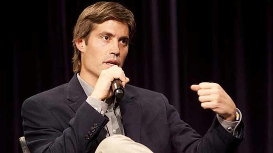 James Foley spoke at Northwestern University after being released from his abduction in 2011 in Libya.