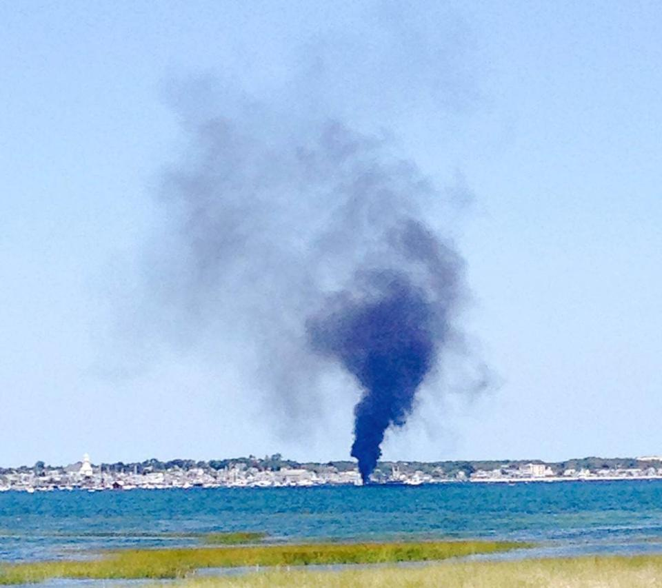 1 Severely Injured In Provincetown Harbor Fire The Boston Globe