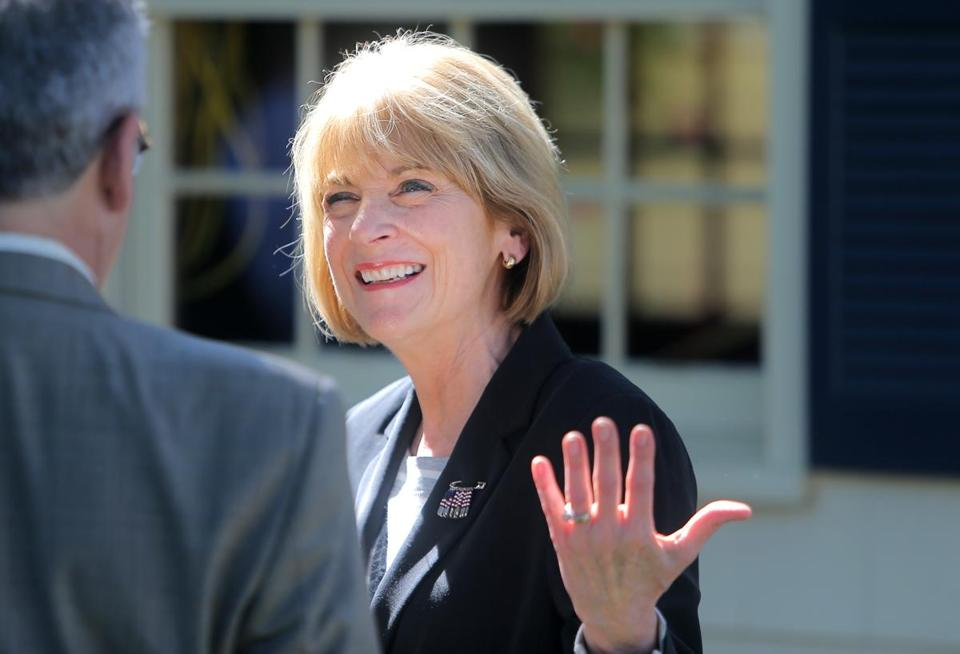 Martha Coakley attended a gathering earlier this week at a home in Weymouth.