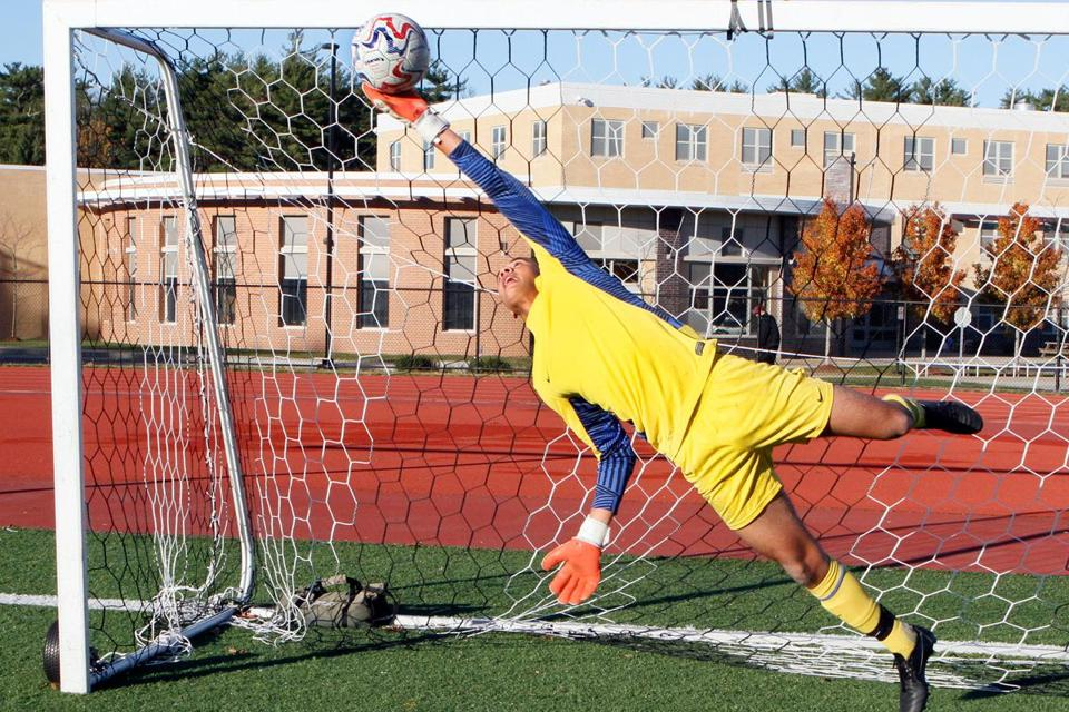 Lucas Rezende Verge Starting Goalkeeper For Weymouth High School The Past Two Seasons