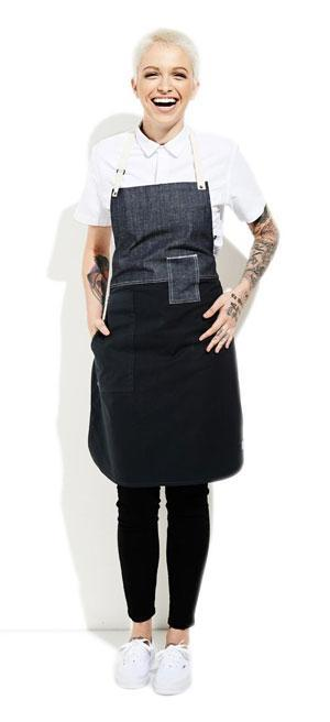 "Tilit's ""color block"" apron."