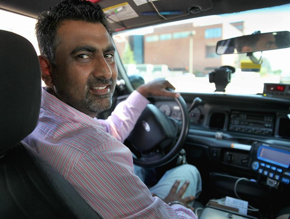 Boston Ma 073114 Cambridge Cab Driver Parmjit Singh Cq Thursday