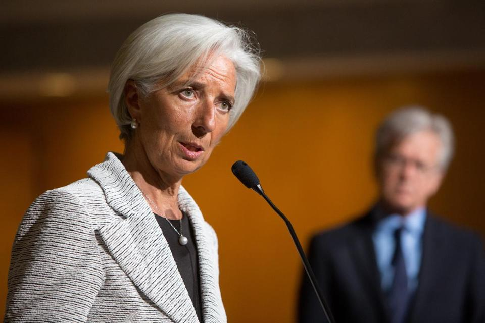 IMF chief Christine Lagarde said she would return to her work in Washington later in the day and said the decision was ''without basis.''