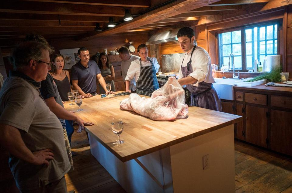 Saltbox Farm goes whole hog to inspire home cooks - The Boston Globe