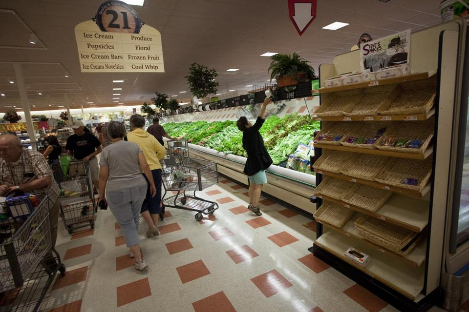 Market Basket workers are continuing their scramble to restock the company's stores.