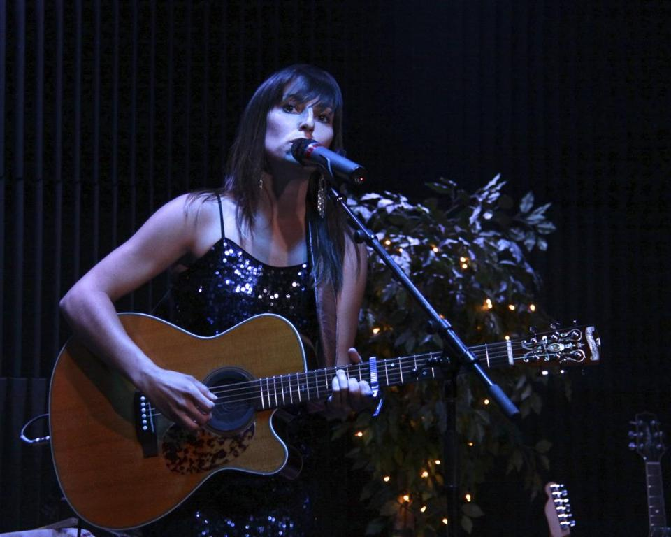 "Sarah Blacker, who grew up in Wellesley and was named ""Female Performer of the Year'' at the 2013 New England Music Awards, will be performing  Friday night in Natick."