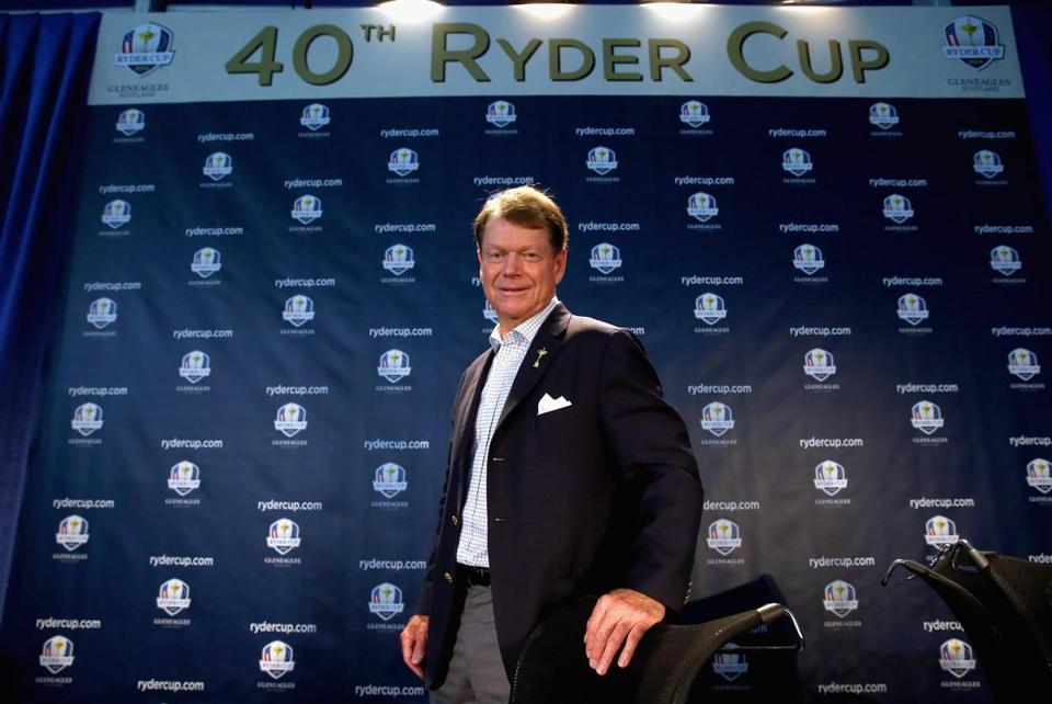 US Ryder Cup captain Tom Watson. Photo by Andy Lyons/Getty Images