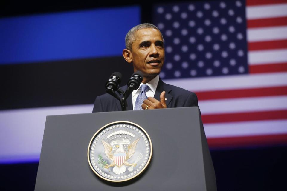 President Obama, who faces criticism in the US for being too cautious in confronting Russian President Putin, sharply condemned Moscow's provocations.