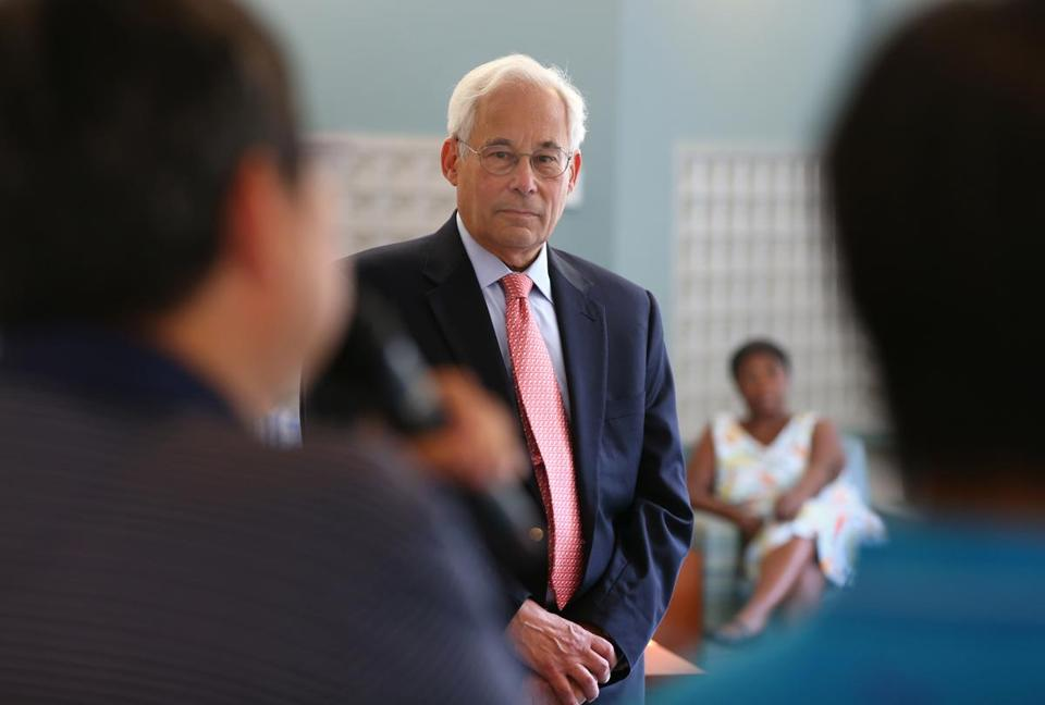 Democratic candidate for Governor Don Berwick.