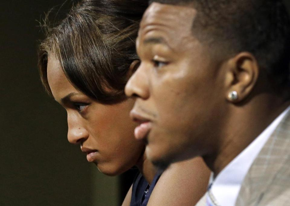In May, Ray and Janay Rice spoke to the media.