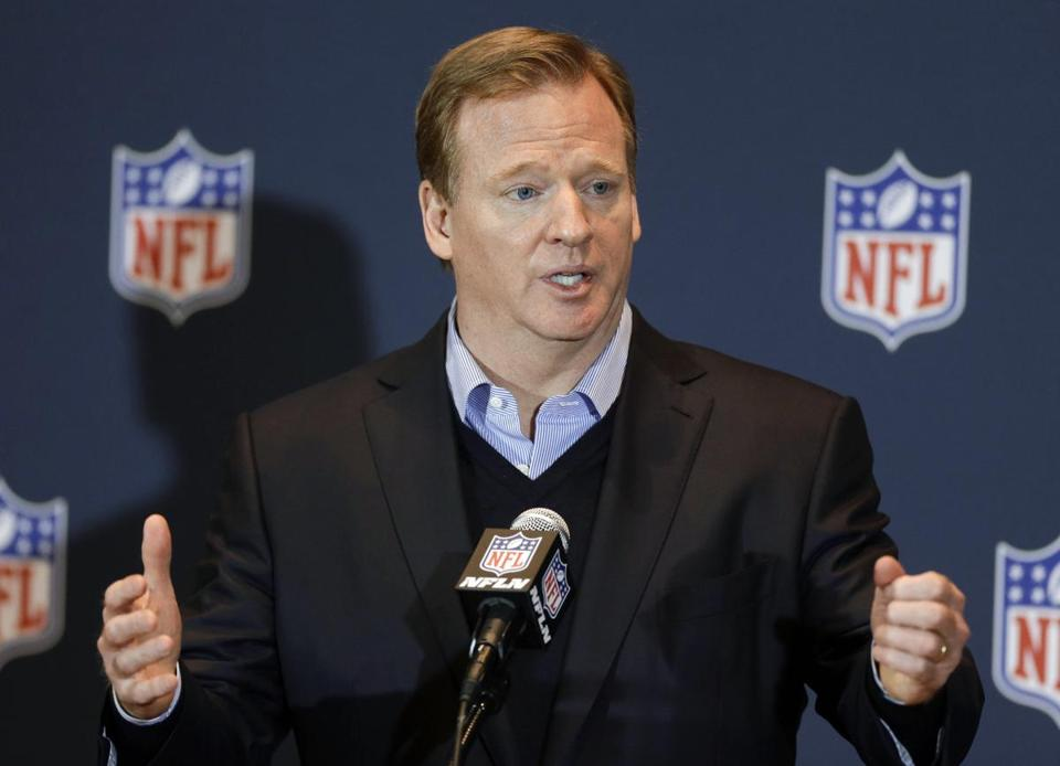 Some detractors of Roger Goodell (above) wonder why it took the NFL and the Ravens so long to release Ray Rice. John Raoux/Associated Press