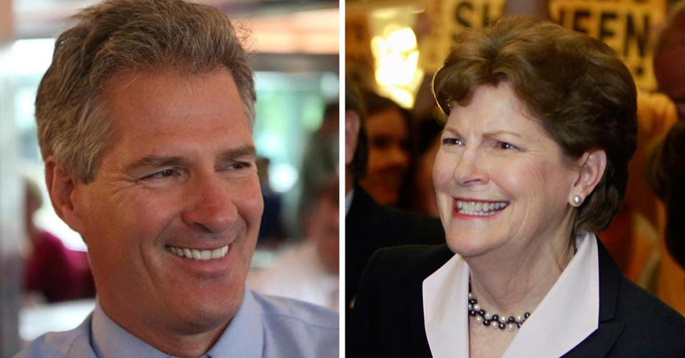 Brown and Shaheen face off in November.