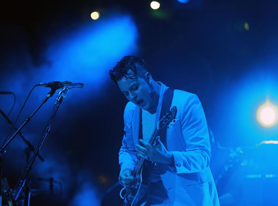 Jack White and his gifted back-up quintet lit up Fenway Park Wednesday night with a high energy two-hour show.