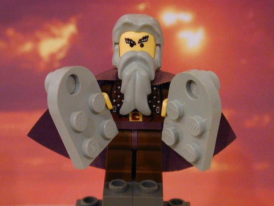 Image result for lego 10 commandments