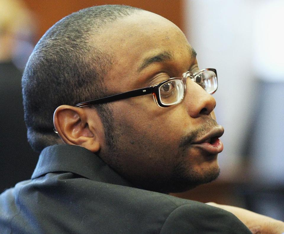 Michel St. Jean was seen in the courtroom Tuesday.