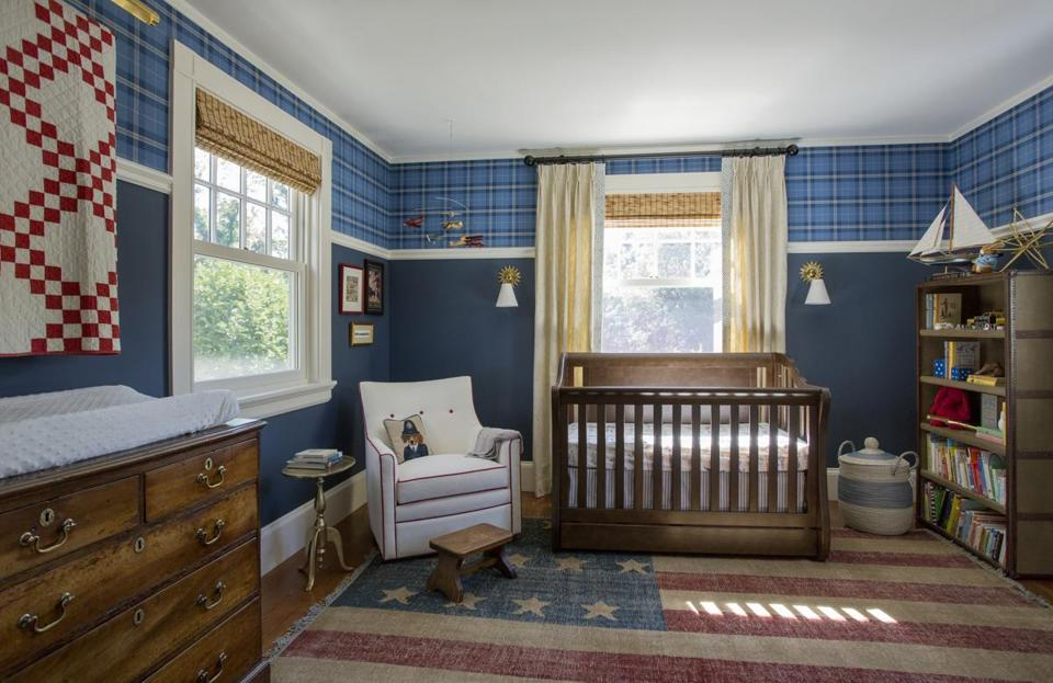 After She Converted The Guest Room To A Nursery Kelly Rogers Re Created