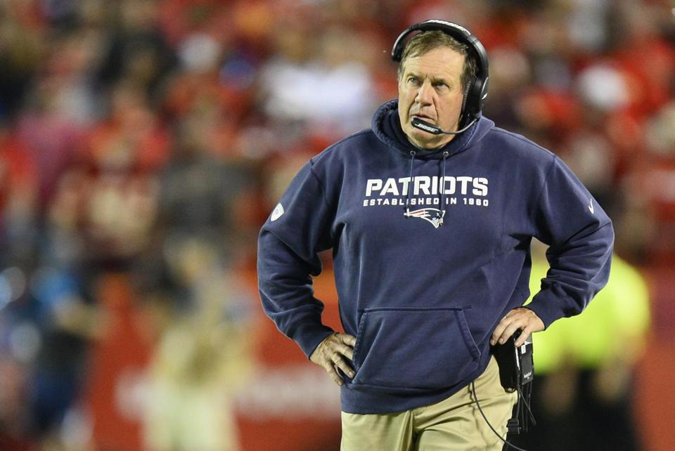 Patriots coach Bill Belichick must figure out how to solve his team's many problems.