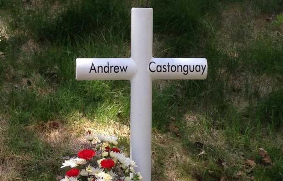 A memorial to Castonguay