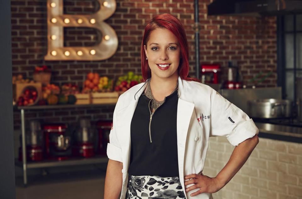 Top Chef contestant Stacy Cogswell.