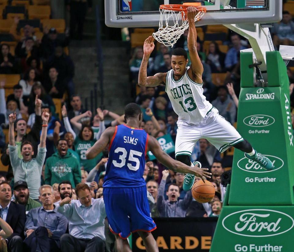 Celtics' James Young Working His Way Back Up To Speed