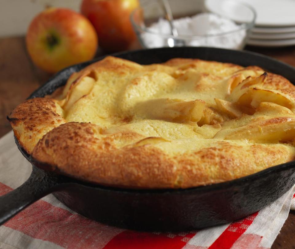 Easy recipes for apple pancakes - The Boston Globe