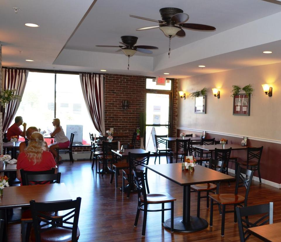 Brian Mucci spent two years gutting and renovating the building.